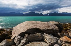 Noruega septentrional Imágenes de archivo libres de regalías