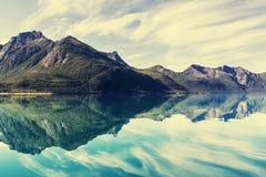 Noruega septentrional Imagen de archivo libre de regalías