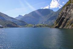 Noruega - Sognefjord Fotografía de archivo libre de regalías