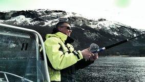 Noruego Fisher Fotografía de archivo