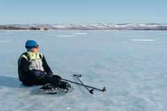 Norueguês que caminha patins Imagens de Stock