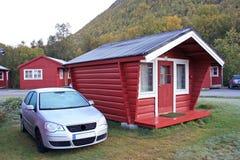 Norvégien de gel de cabine photos libres de droits