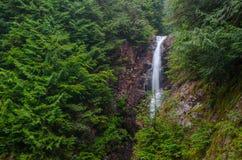 Norvan baja cascada, Vancouver del norte, Columbia Británica Foto de archivo
