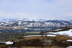 Norvegese Clacier Immagine Stock Libera da Diritti
