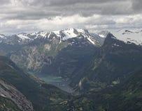 Norvegian fjord Zdjęcie Stock