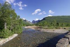 Norvegian fjord Obrazy Stock