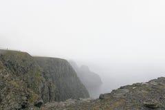 Norvegian fjord Arkivbild