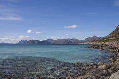 Norvegian fjord Stock Image