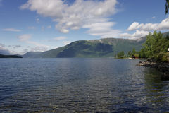 Norvegian fjord Royalty Free Stock Photography