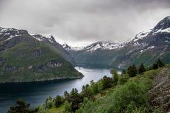 Norvegian's Fjord Stock Images