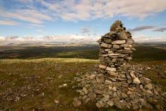 Norvegian szczyt Zdjęcia Royalty Free