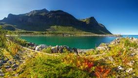 norway Île de Senja images stock