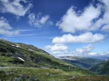 Norway. Travel around Europe! Typical mountain landscape of western Norway Royalty Free Stock Photography