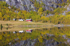 Norway. Landscape near Otta river, Norway Royalty Free Stock Image