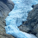 Norway. Briksdalsbreen Glacier, Jostedalsbreen National Park, Norway Royalty Free Stock Images