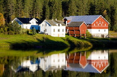 Norway. Farm in countryside of Norway Royalty Free Stock Image