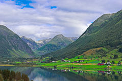 Norway, amazing landscape Stock Photography