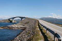 Norway atlantic road Royalty Free Stock Image