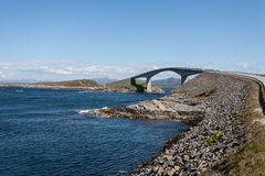 Norway atlantic road Royalty Free Stock Photography