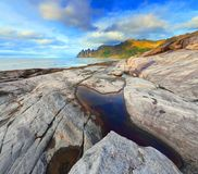 Norway autumn seascape Royalty Free Stock Photo