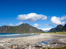 Norway beach Stock Photo