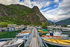 Norway, beautiful landscape, still wild nature Stock Images