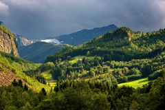 Norway, beautiful landscape, still wild nature Royalty Free Stock Image