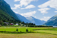 Norway, beautiful mountain landscape Stock Photography