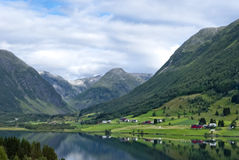 Norway, beautiful mountain landscape Royalty Free Stock Image
