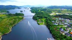 norway Bello paesaggio della Norvegia video d archivio