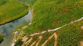 norway Bello paesaggio della Norvegia Scala di Troll archivi video