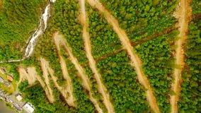 norway Bello paesaggio della Norvegia Scala di Troll stock footage