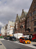 Norway Bergen Street View Stock Images