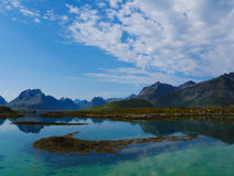 Norway  blue fjord Stock Image