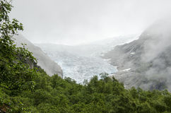 Norway - Briksdal glacier - Jostedalsbreen National Park Stock Photo