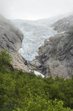 Norway - Briksdal glacier - Jostedalsbreen National Park. Europe travel destination Stock Photos