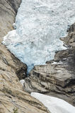 Norway - Briksdal glacier - Jostedalsbreen National Park Royalty Free Stock Photography