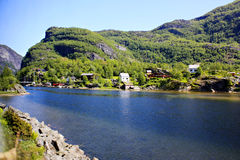 Norway bucolic Royalty Free Stock Images