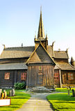 Norway church. Royalty Free Stock Photos