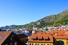 Norway Cityscape Royalty Free Stock Photos