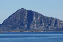 Norway coast landscape view. View of Norway coast  from a cruise boat Royalty Free Stock Photo