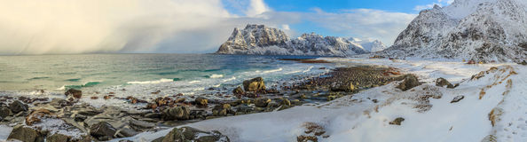 Norway Coast Royalty Free Stock Images