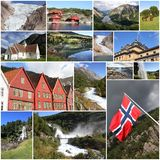 Norway collage Royalty Free Stock Image
