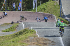 Norway Cup in BMX Royalty Free Stock Photography