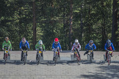Norway Cup in BMX Stock Images