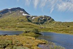 norway Denna bild togs under turnerar av Lom royaltyfria bilder