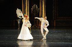 Norway envoy-The prince adult ceremony-ballet Swan Lake Stock Photography