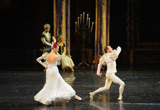 Norway envoy-The prince adult ceremony-ballet Swan Lake Royalty Free Stock Image