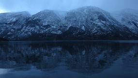 norway Förkylningsvartvatten Royaltyfria Bilder