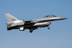 Norway F16 fighter jet Royalty Free Stock Photo